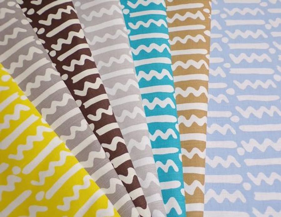 Quadrille Alan Campbell Jaybee Reverse Medium Grey on Tint AC407-07TLC- 5 Yard Minimum Order