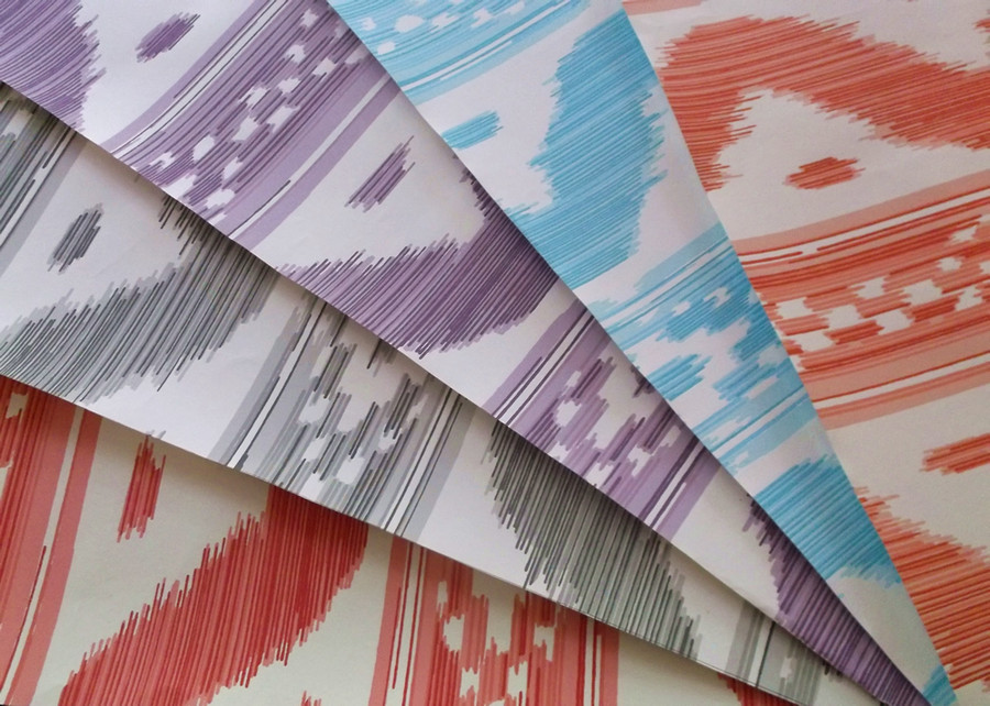 Quadrille China Seas Wallpapers also available