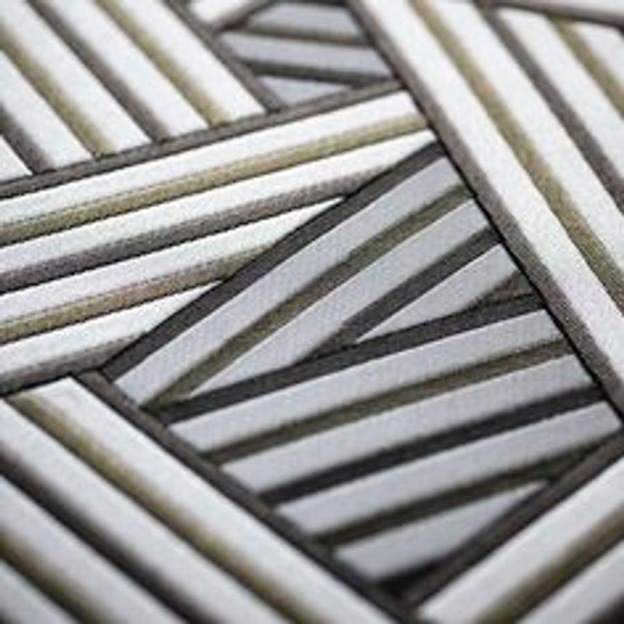 Dedar Short Cuts Gold T15009 001 Custom Pillows (piping is additional)