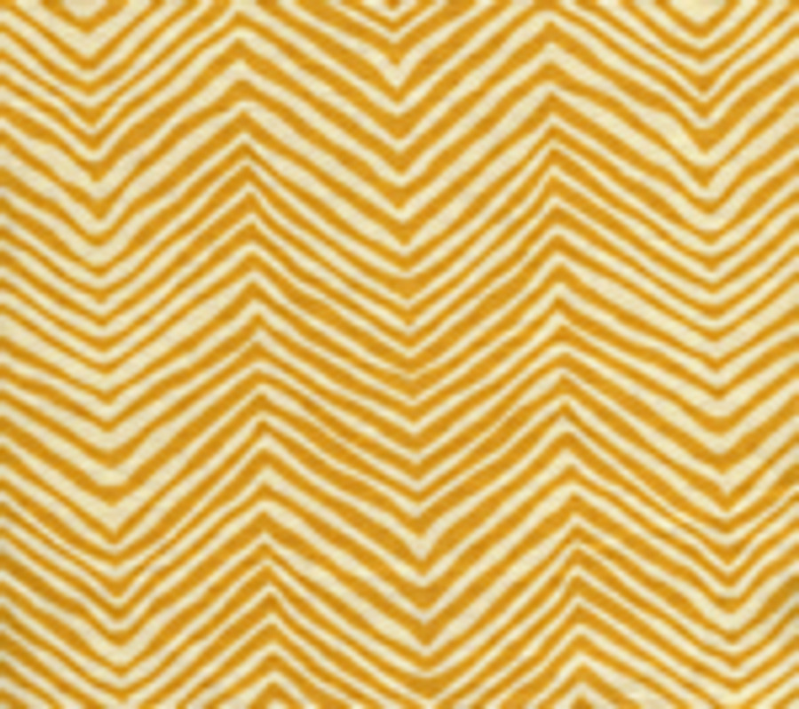 Quadrille Alan Campbell Petite Zig Zag Inca Gold On Tint
