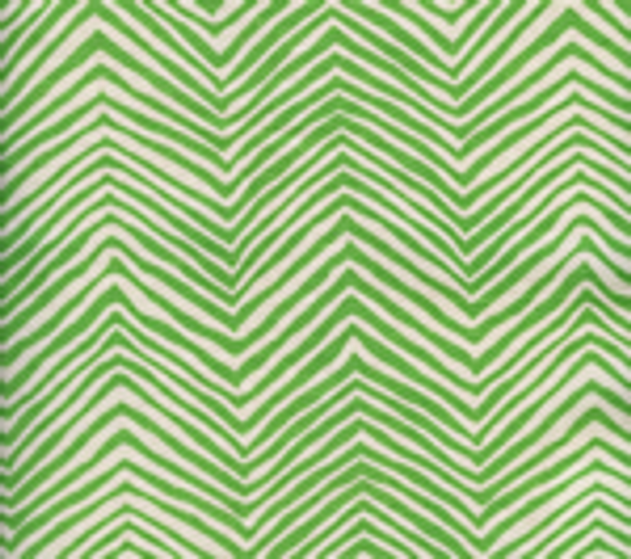 Quadrille Alan Campbell Petite Zig Zag Leaf On Tint