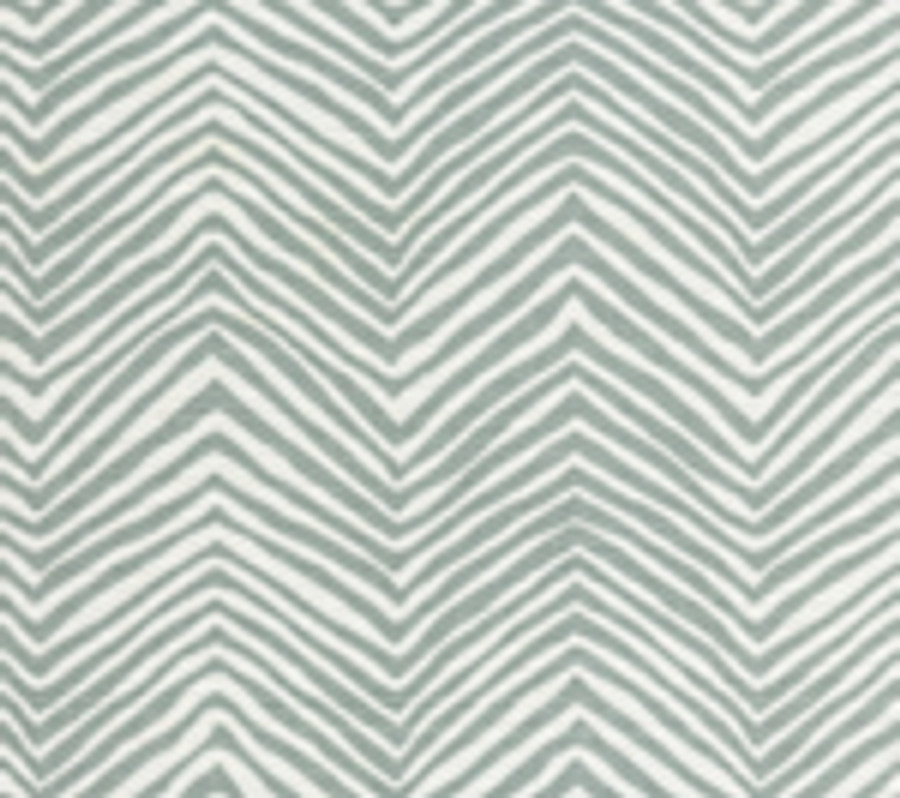 Quadrille Alan Campbell Petite Zig Zag Bali Blue On Tint