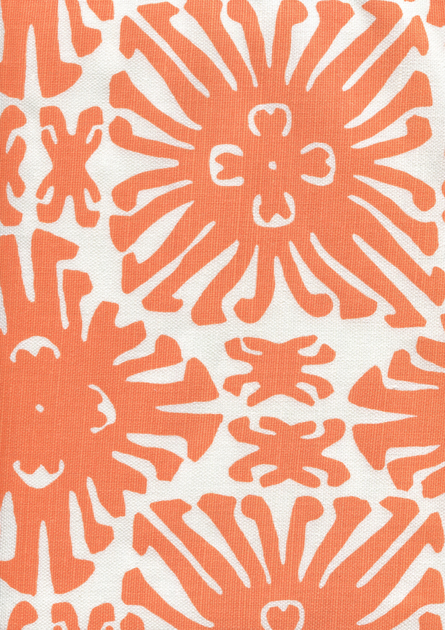 Sigourney Small Scale Orange on white 2475 04
