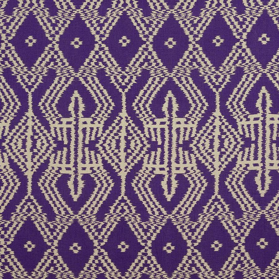 Schumacher Asaka Ikat in Violet 176091