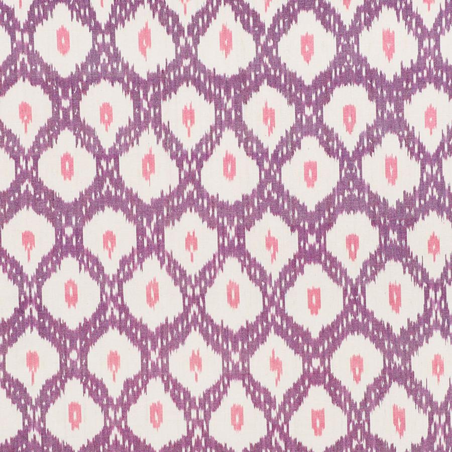 Schumacher Indio Ikat in Purple 178072