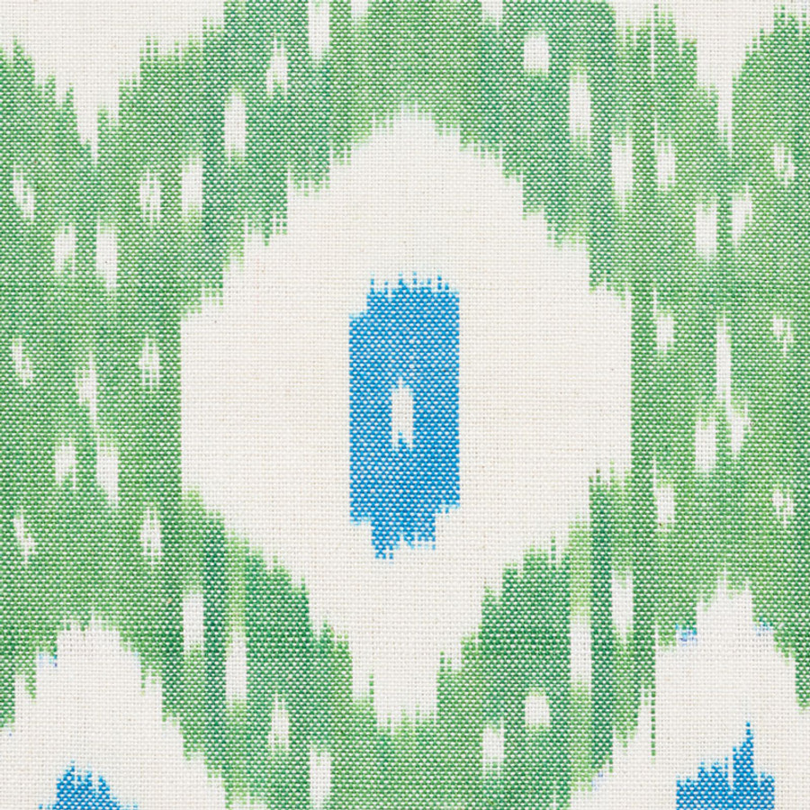 Schumacher Indio Ikat in Green 178070