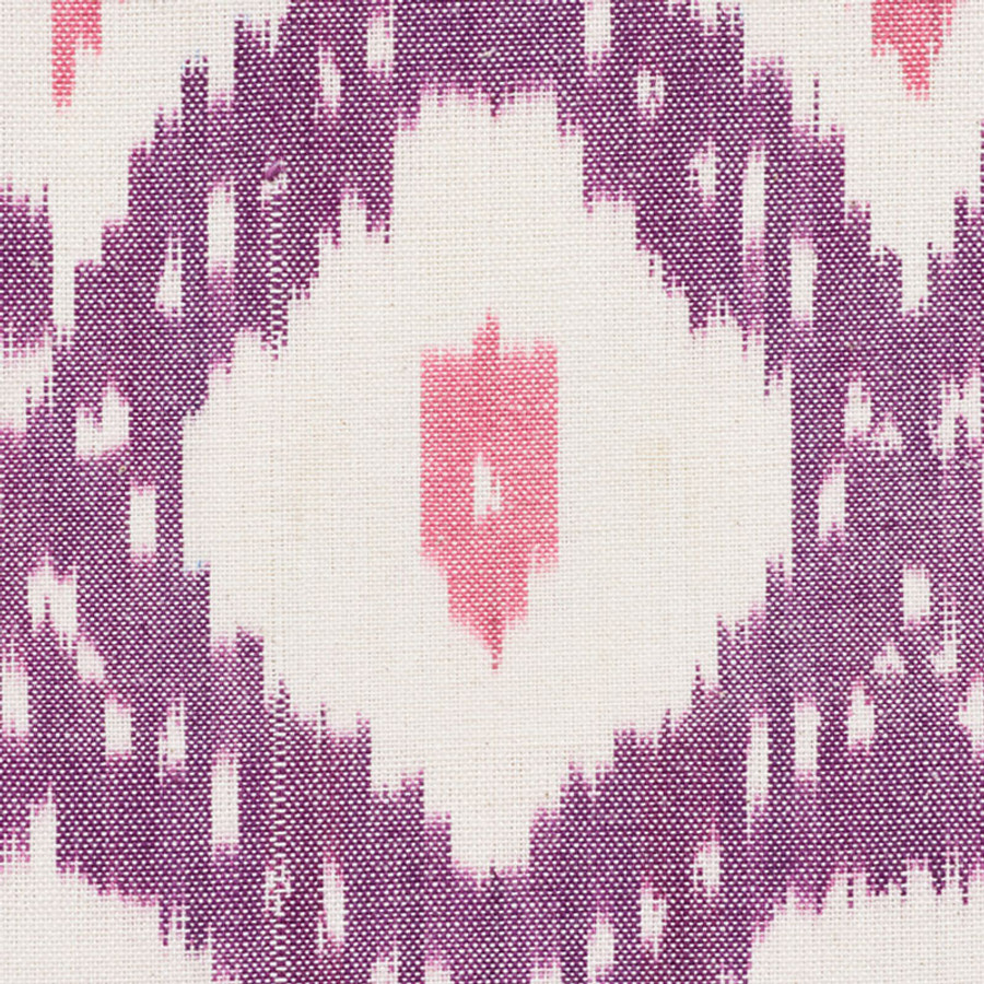 Schumacher Indio Ikat in Purple 178072