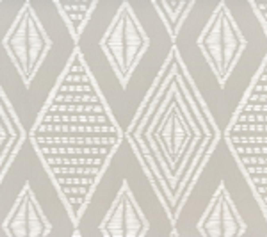 Quadrille Safari Pale Grey on White AP855-PGREY