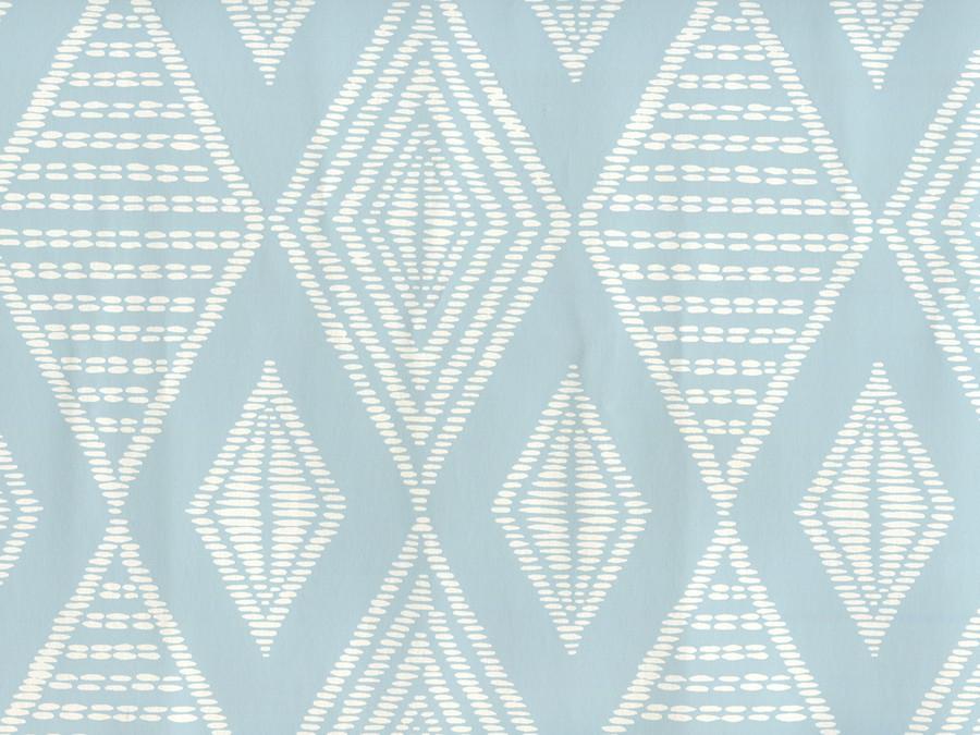 Quadrille Safari Soft Windsor on Almost White Paper AP855-02