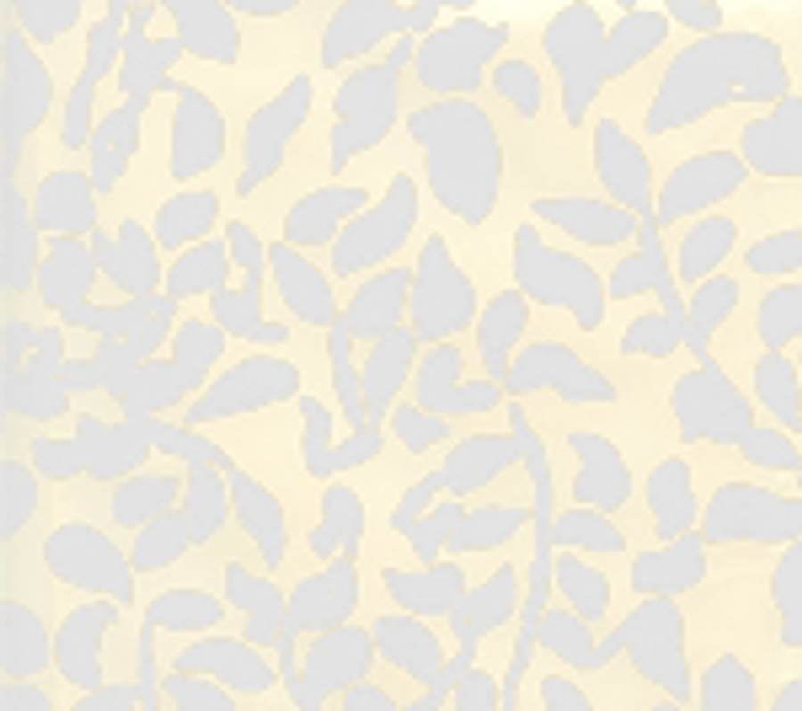Quadrille Wallpaper Arbre de Matisse White on Off White 2030-01WP