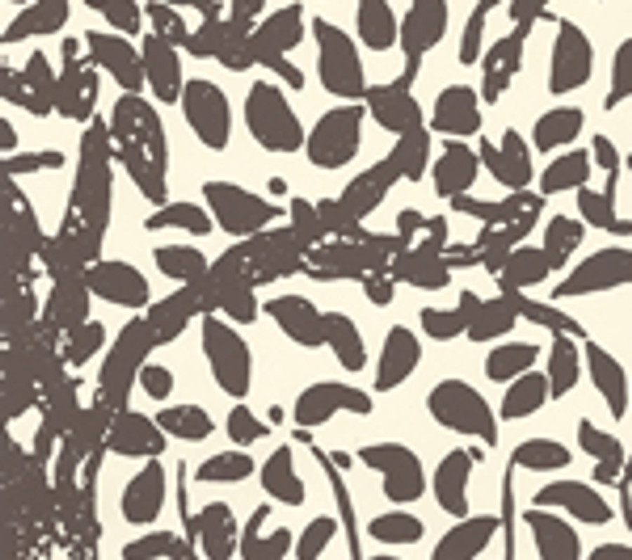 Quadrille Wallpaper Arbre de Matisse Brown on Off White  2030-05WP