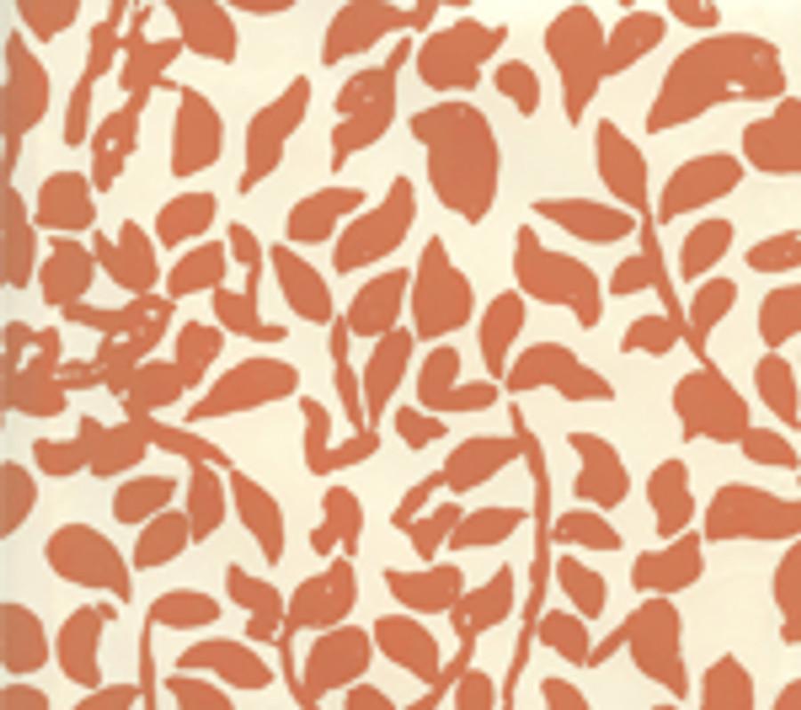 Quadrille Wallpaper Arbre de Matisse Shirmp on Off White 2030-03WP