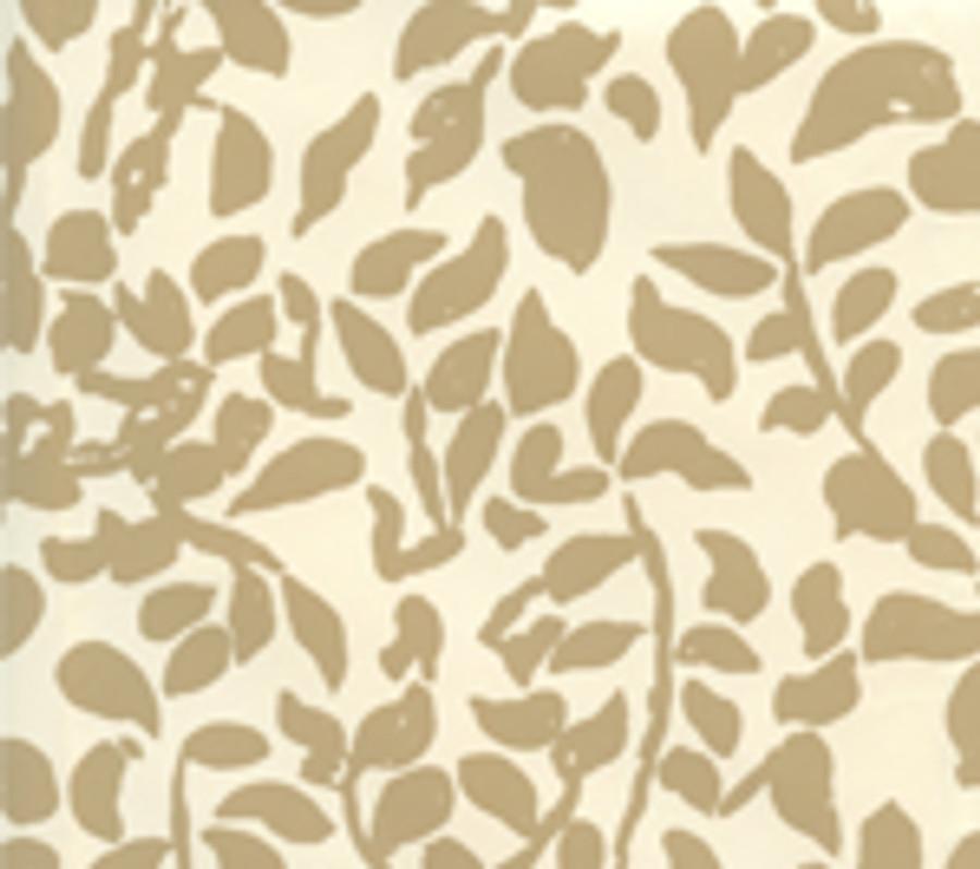 Quadrille Wallpaper Arbre de Matisse Camel II on Off White 2030-09WP