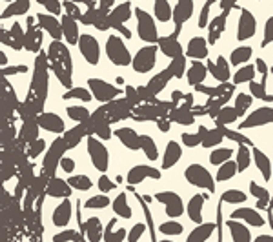 Quadrille Wallpaper Arbre de Matisse Brown on Off White  2030-05WP