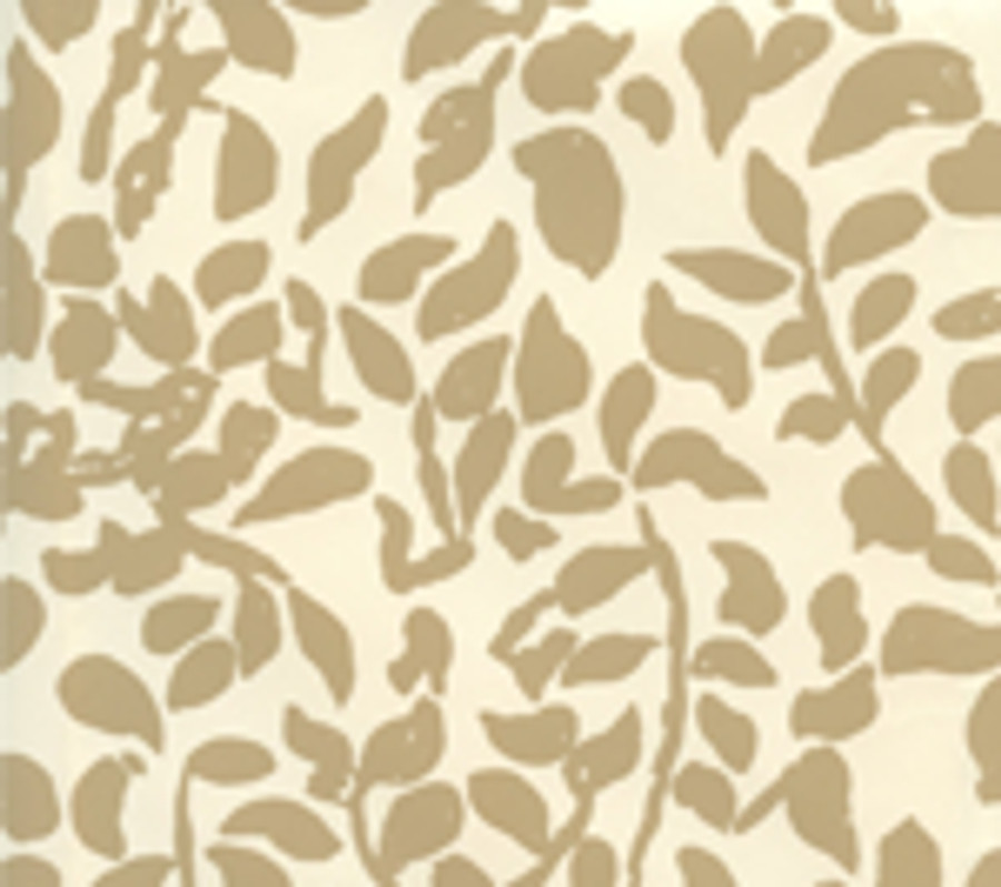 Quadrille Wallpaper Arbre de Matisse Camel II on Off White 2030-09WP