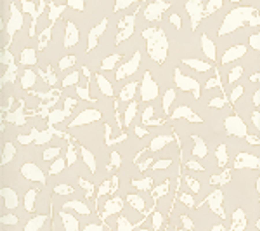 Quadrille Arbre de Matisse Reverse Wallpaper White on Off White 2035-01WP