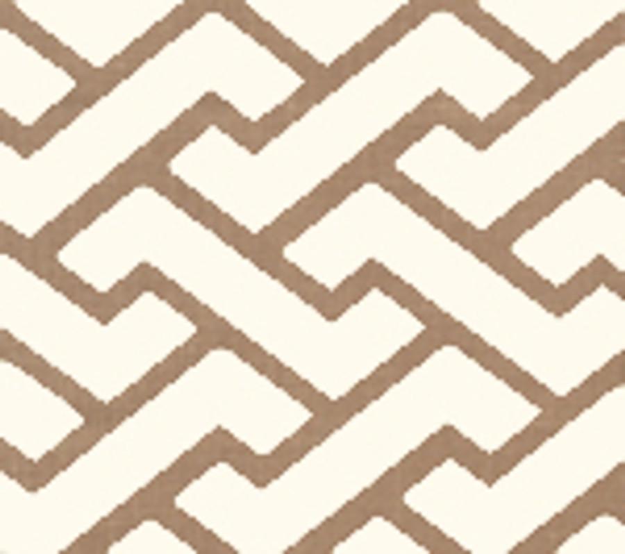 Quadrille Aga Wallpaper Camel II on Tint 6340-08WP