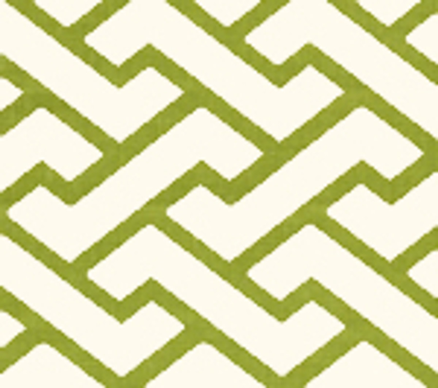 Quadrille Aga Wallpaper Pistachio Green on Tint 6340-14WP
