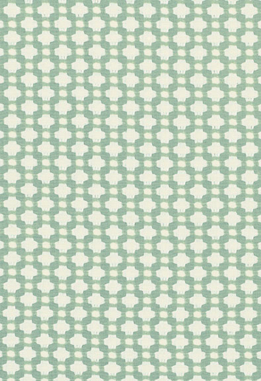 Schumacher Celerie Kemble Betwixt 62615 Water Ivory