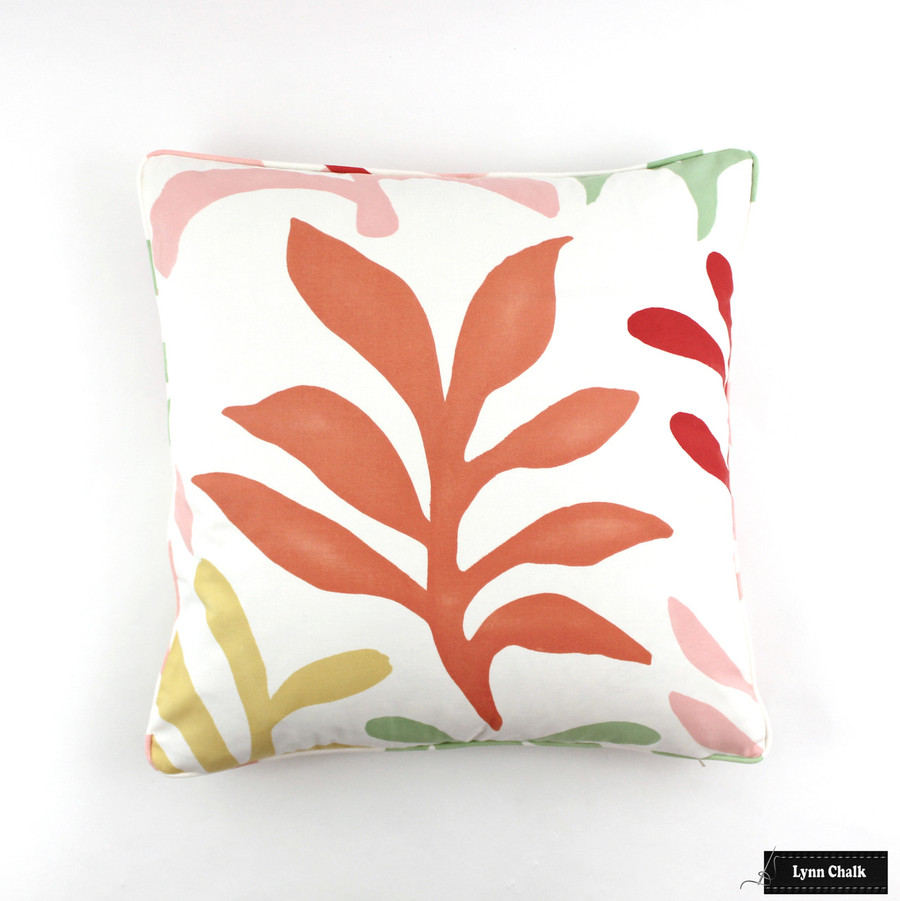 Lulu DK Ode to Matisse Punch Pillows with Self Welting