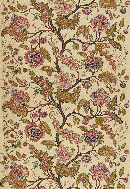 Martyn Lawrence Bullard Sinhala Linen Print 174811 Pomegranate