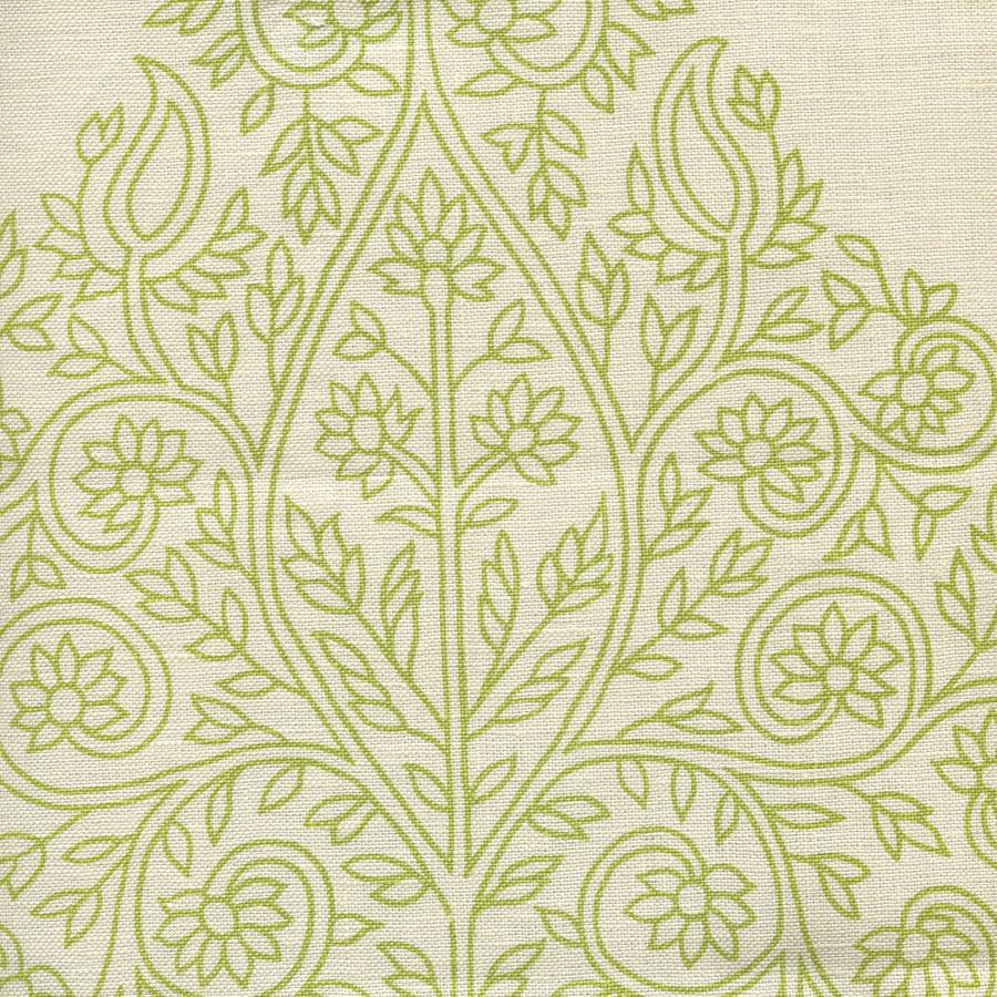 Quadrille Taj Wallpaper Fig on on Off White HC1480P-07WP