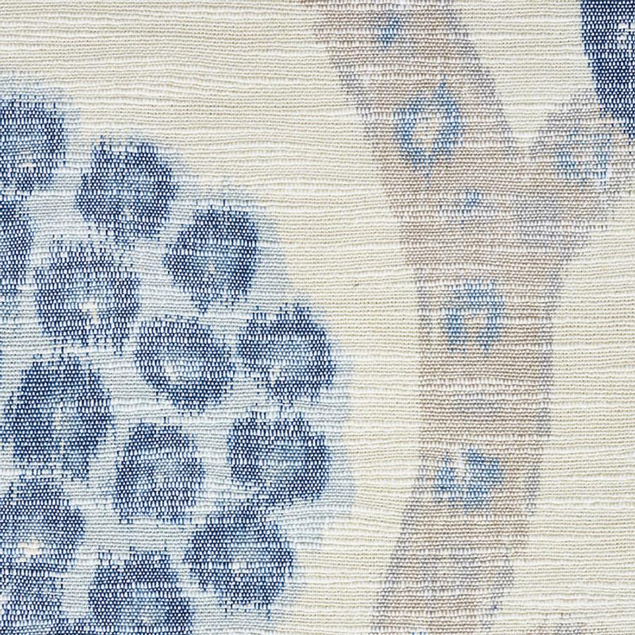 Schumacher Annabel Warp Print Blue 177992