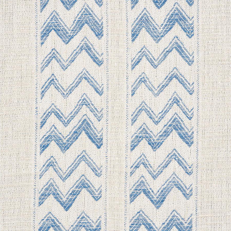 Schumacher Kudu Stripe Blue 69971
