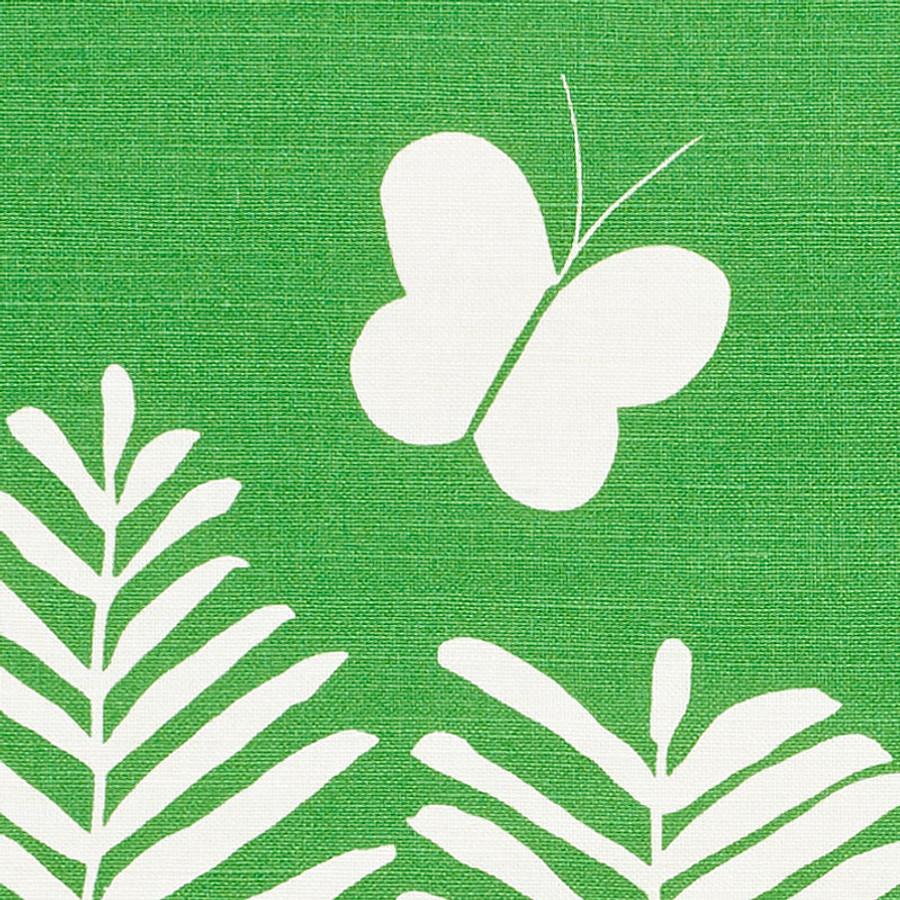 Schumacher Fern Silhouette Green 178230