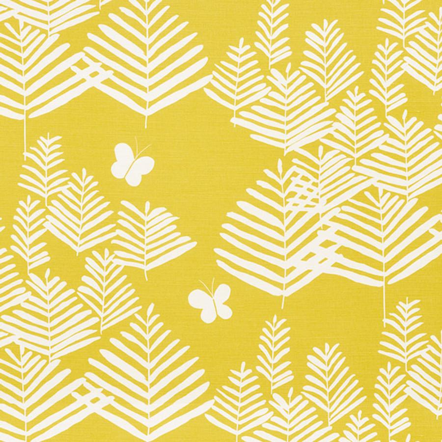 Schumacher Fern Silhouette Yellow 178231