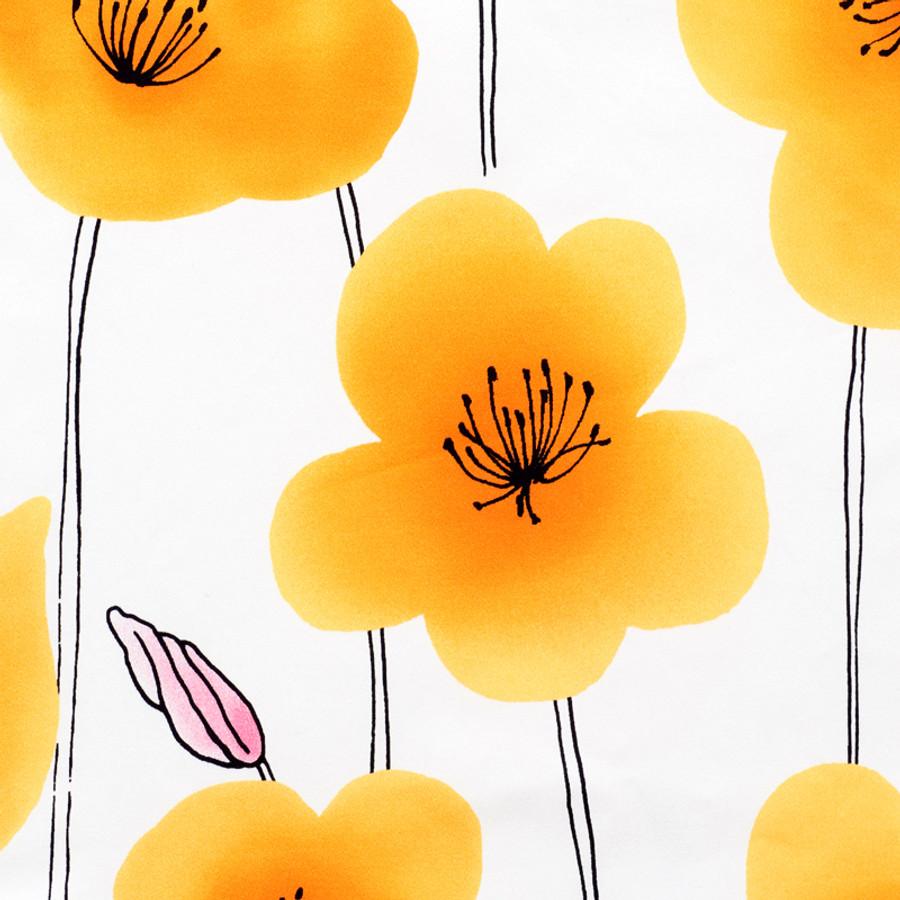 Schumacher Wild Poppies Orange 178390
