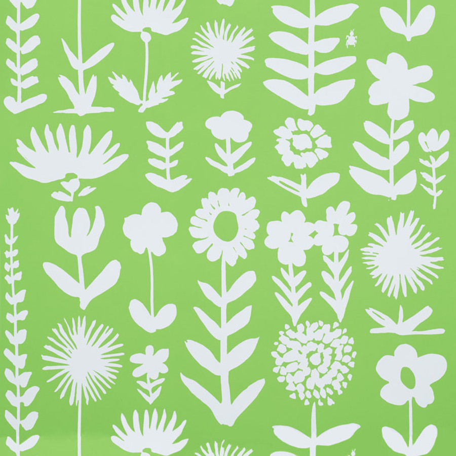Schumacher Wallpaper Wild Things Leaf 5009811