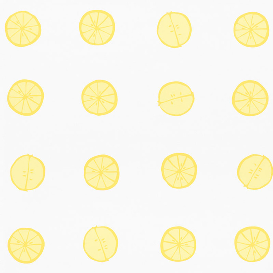 Schumacher Lemonade Wallpaper Lemon 5009820