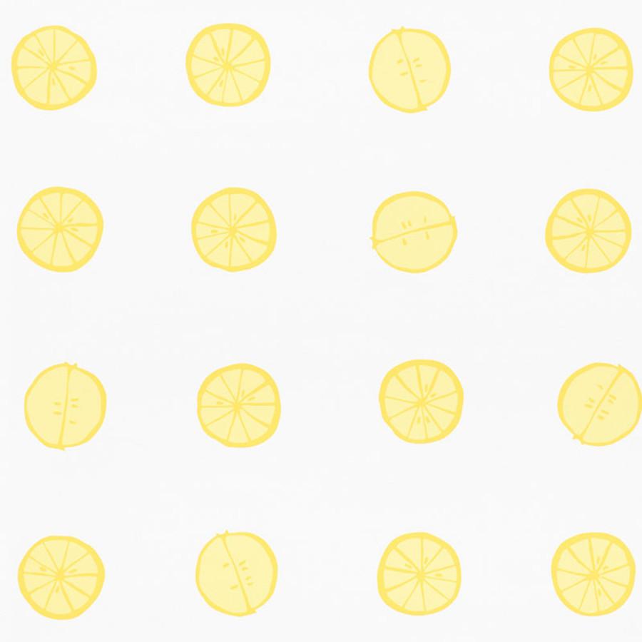 Schumacher Lemonade Wallpaper Lemon 5009820