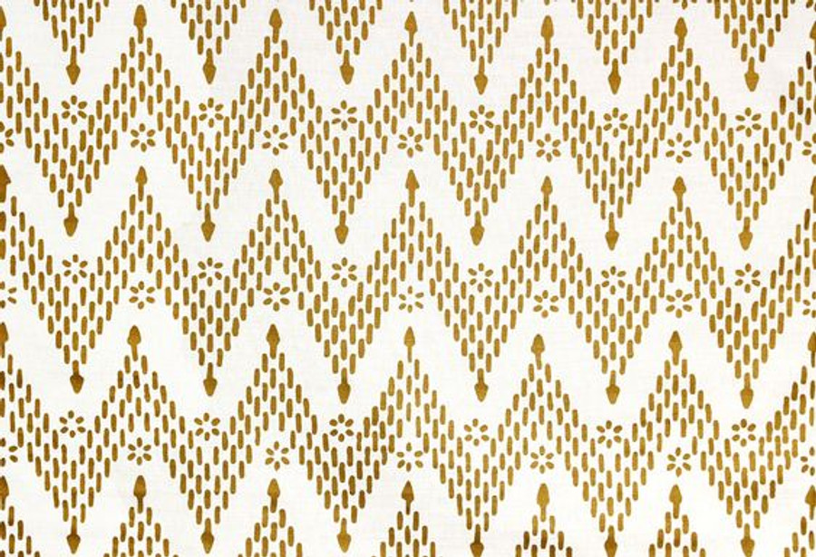 Sister Parish Kismet Fabric Gold SPLL-3900-25