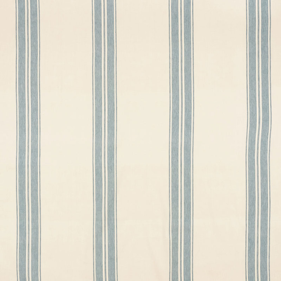Schumacher Brentwood Stripe China Blue 70871
