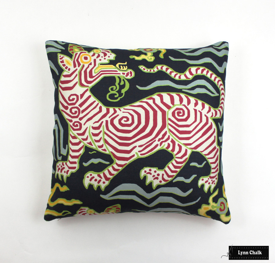 Custom Pillow in Tibet Navy (18 X 18)
