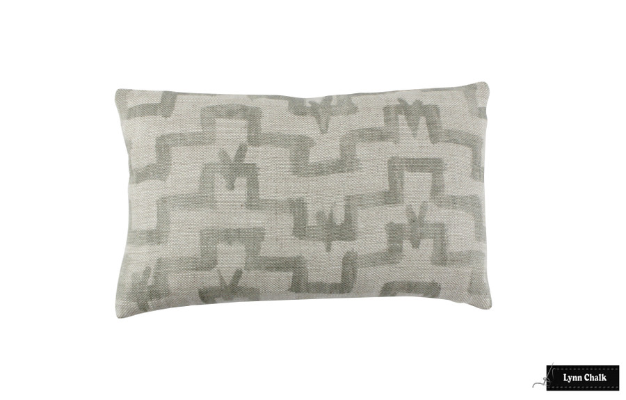 Zak & Fox Tulu Khaki pillow 12 X 20