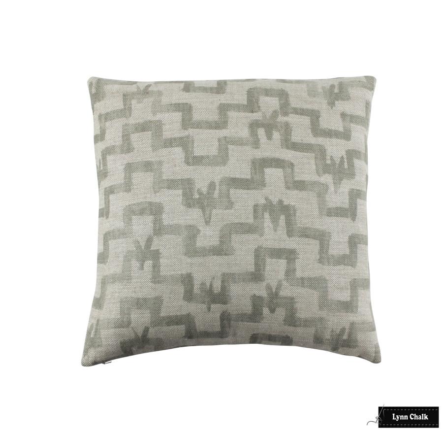 Zak & Fox Tulu Khaki pillow 20 X 20