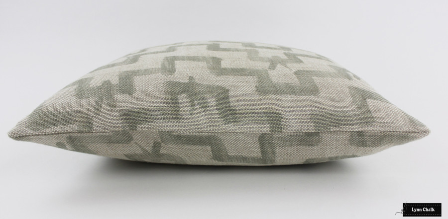 ON SALE 60% Off- Zak & Fox Tulu Pillows In Khaki (Both Sides-12 X 20)