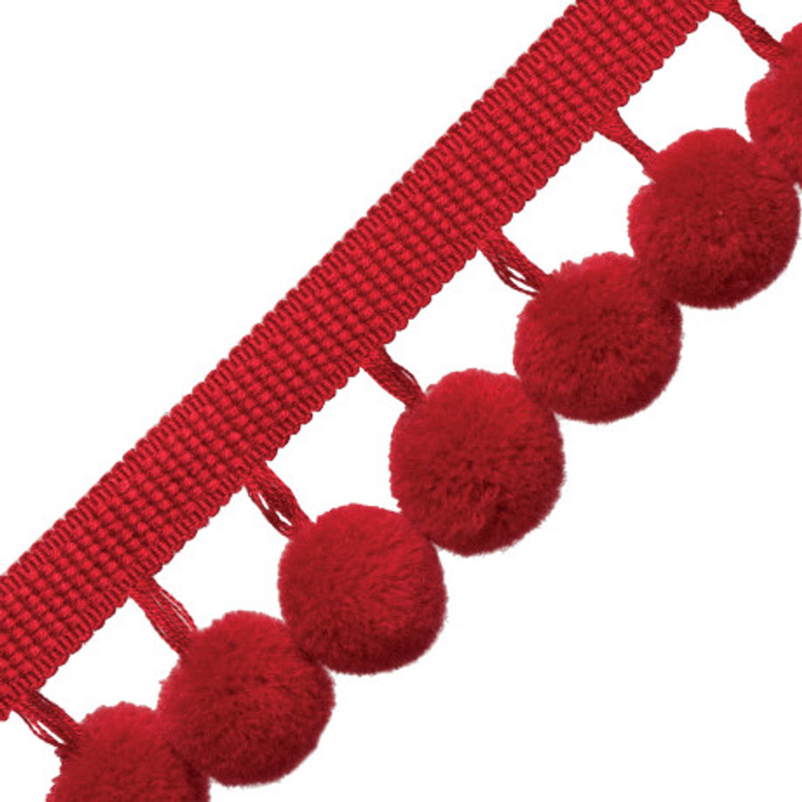 Samuel & Sons Dolce Pom Pom Fringe Candy Apple