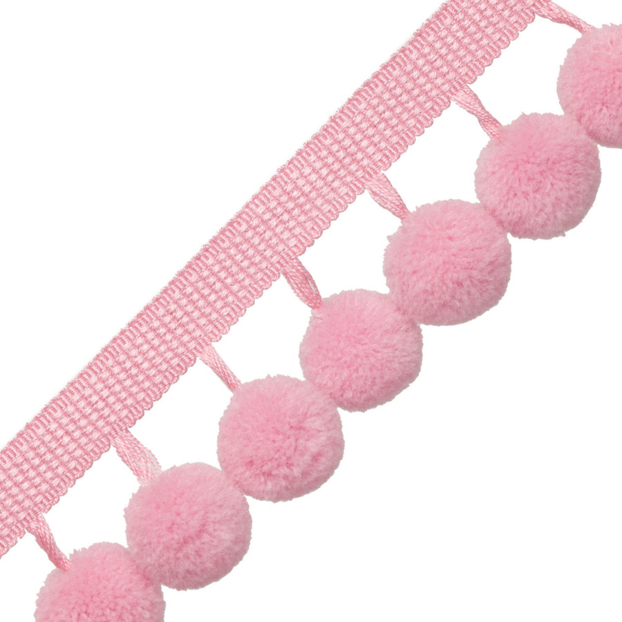 Samuel & Sons Dolce Pom Pom Fringe Cotton Candy