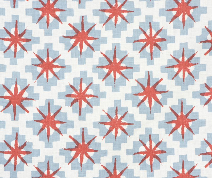 Peter Dunham Starburst in South Blue Red 111STB03