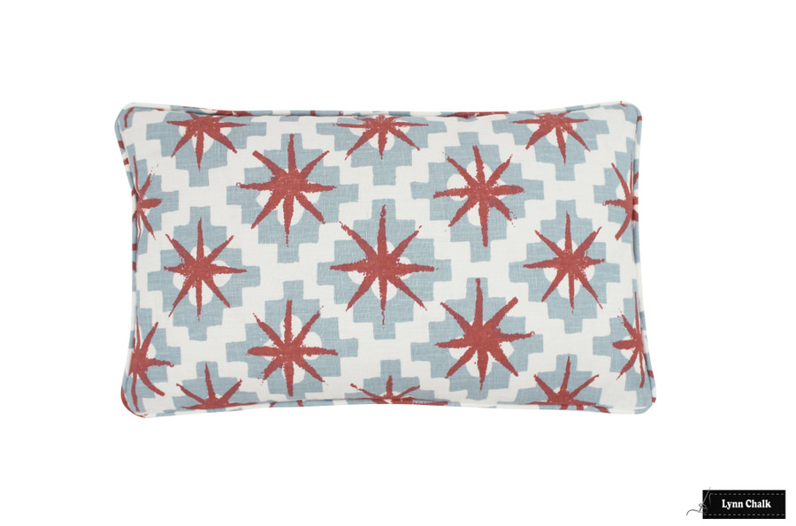 Peter Dunham Starburst Custom Drapes (shown in North Blue Blue 111STB01-comes in other colors)