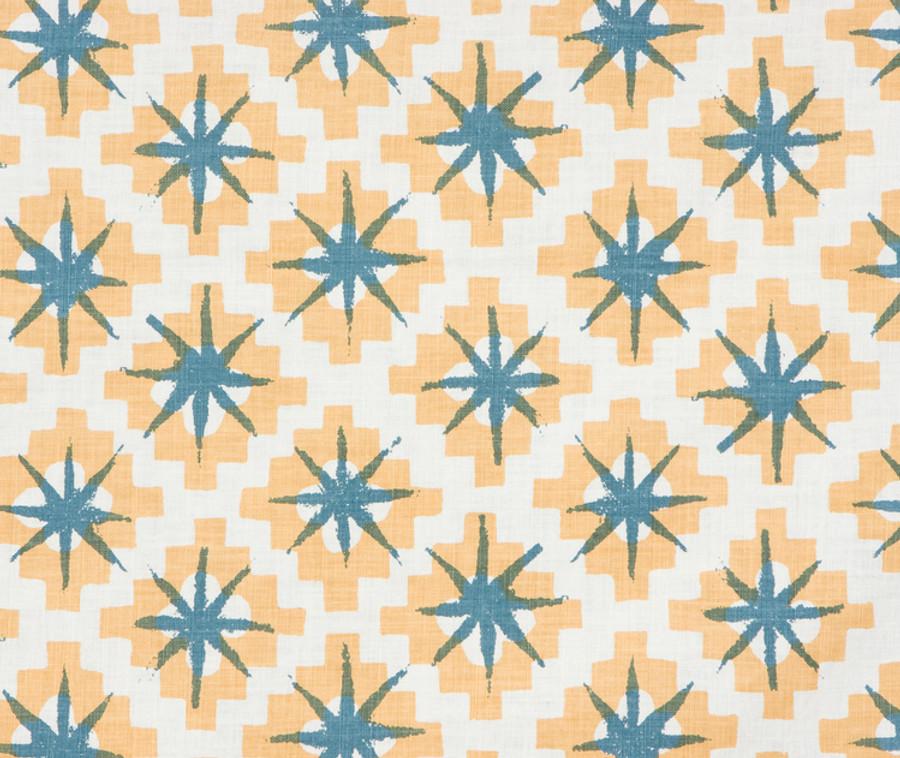 Peter Dunham Starburst East Yellow Blue 111STB04