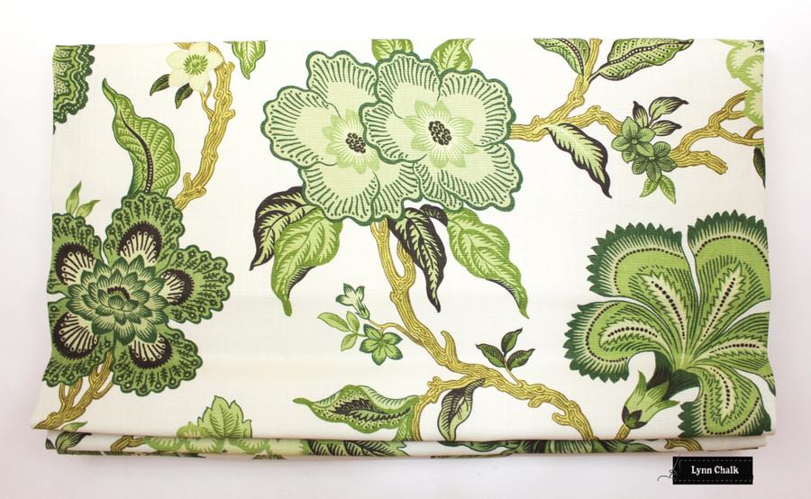 Schumacher Celerie Kemble Hothouse Flowers Mineral 174030