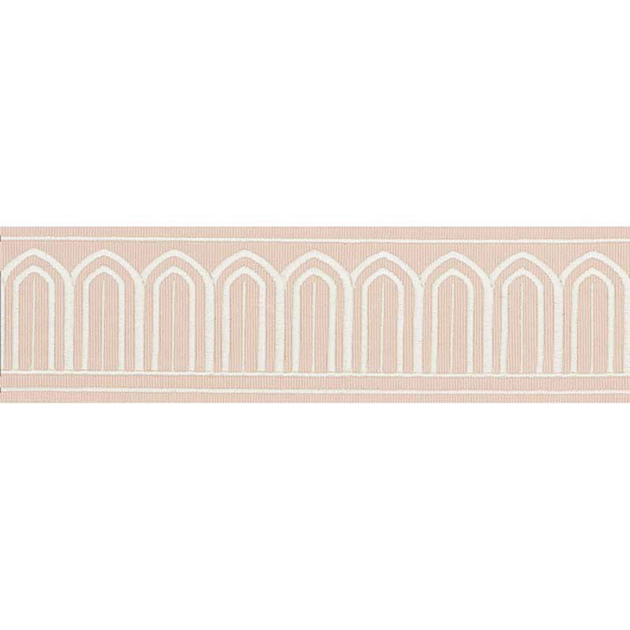 Schumacher Arches Trim Blush 70764