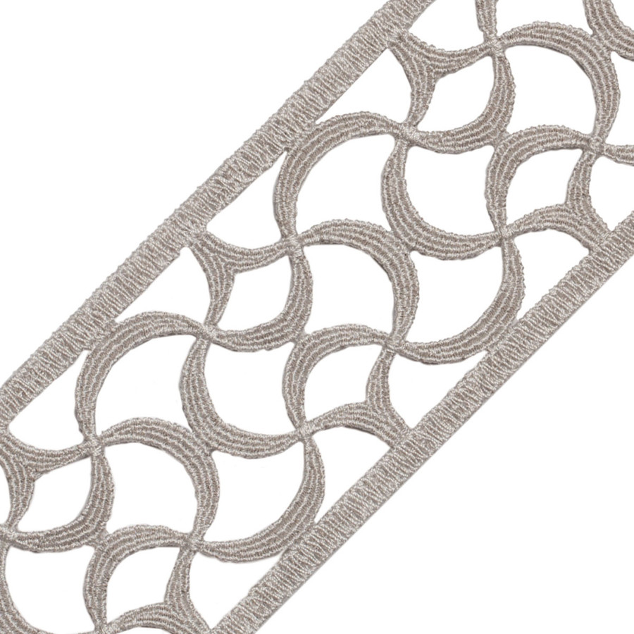 Samuel & Sons Aubree Lace Border Pearl 58052-06