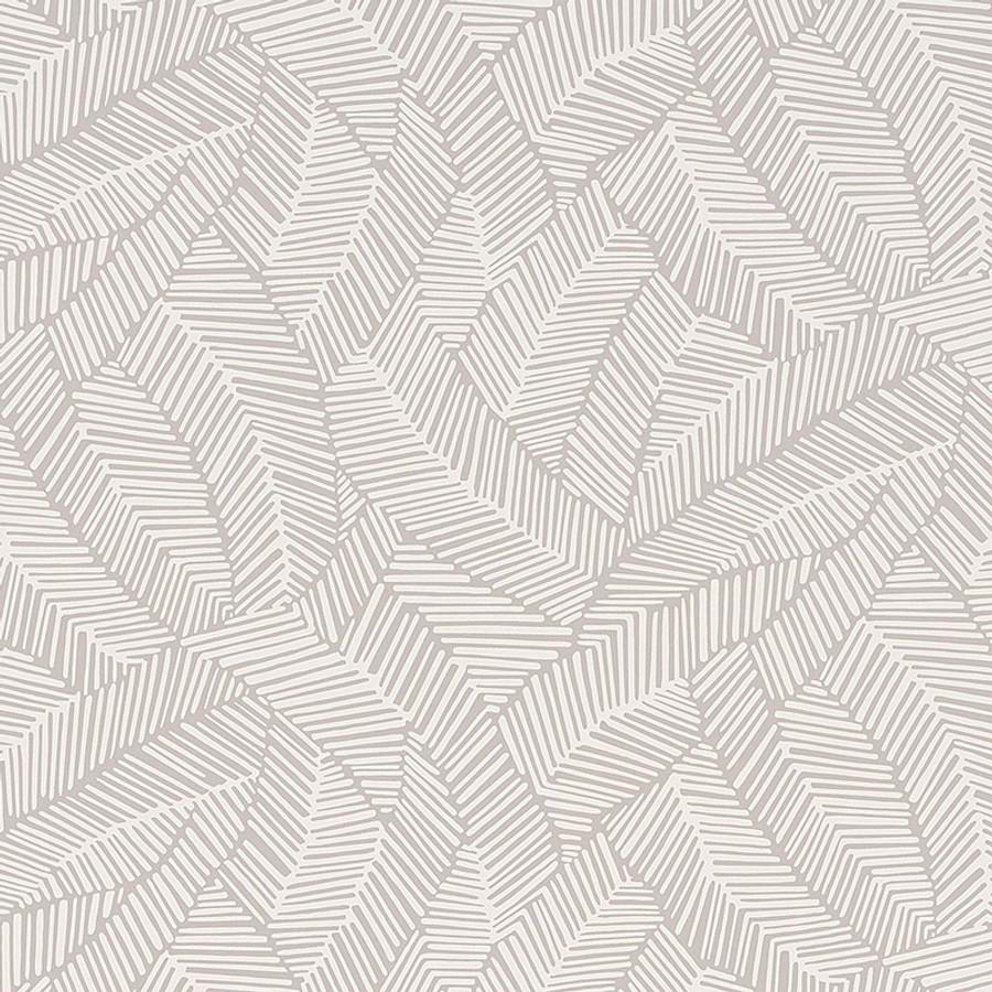 Schumacher Abstract Leaf Wallpaper Dove 5007531
