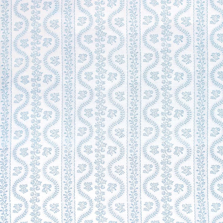 Sister Parish Dolly Fabric Seafoam SPLL-2000-15 Linen Cotton Blend